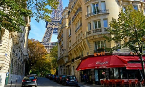 Zdjecie FRANCJA / - / Paryż / Paryskie spacery