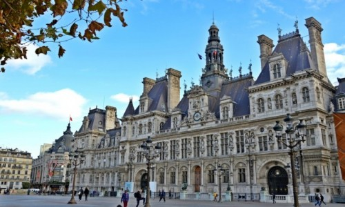 Zdjecie FRANCJA / - / Paryż / Hotel de Ville (ratusz)