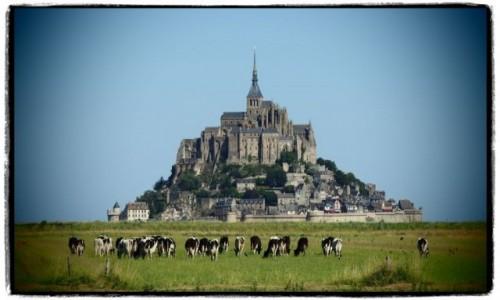 Zdjecie FRANCJA / Normandia / Mont St. Michel / pełny wypas