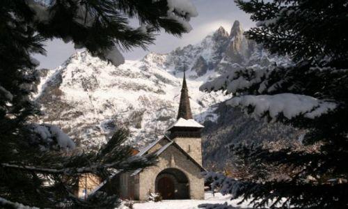 Zdjecie FRANCJA / brak / Chamonix / kosciolek