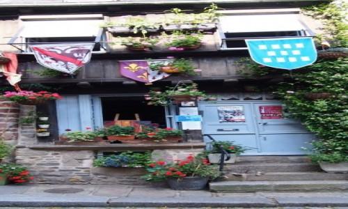 Zdjecie FRANCJA / Bretania / Dinan / domek w Dinan