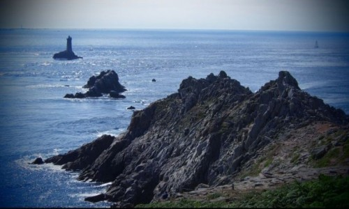 Zdjecie FRANCJA / Bretania / La Pointe du Raz /