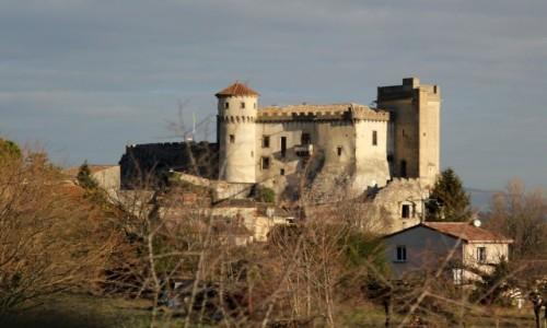 FRANCJA / Owernia-Rodan-Alpy / Rochemaure / Francja przejazdem