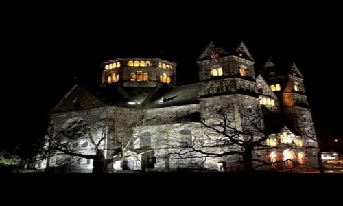 Zdjęcie FRANCJA / Lotaryngia / Temple Neuf de Metz / nocą...