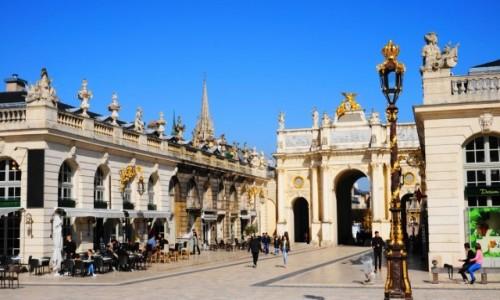 Zdjecie FRANCJA / Lorraine / Nancy / Place Stanislas