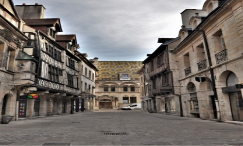 Zdjęcie FRANCJA / Burgundia / Dijon / Dijon, zakamarki