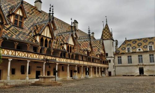 Zdjecie FRANCJA / Burgundia / Beaune / Beaune,hospicjum z XV w.
