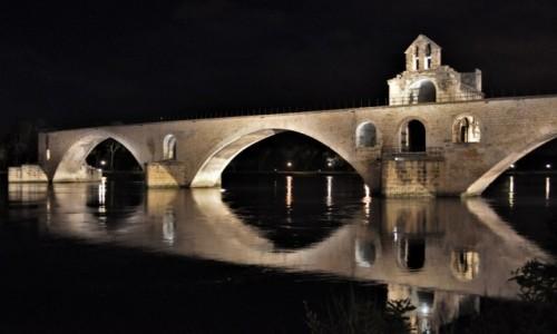 Zdjęcie FRANCJA / Prowansja  / Avignon / Avignon, Pont Saint-Benezet