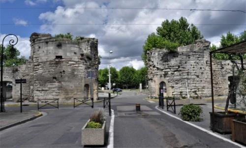 Zdjęcie FRANCJA / Prowansja / Arles / Arles,mury miejskie