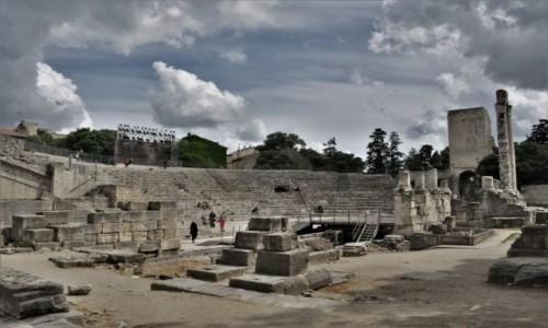 Zdjęcie FRANCJA / Prowansja / Arles / Arles, teatr antyczny