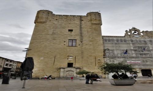 Zdjecie FRANCJA / Oksytania / Narbonne / Narbonne, pałac biskupi z XIII w.