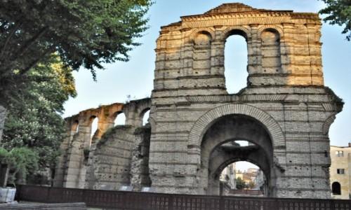 Zdjecie FRANCJA / Akwitania / Bordeaux / Bordeaux, ruiny cyrku antycznego