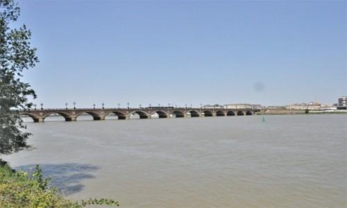 Zdjecie FRANCJA / Akwitania / Bordeaux / Bordeaux, Most Kamienny w Bordeaux