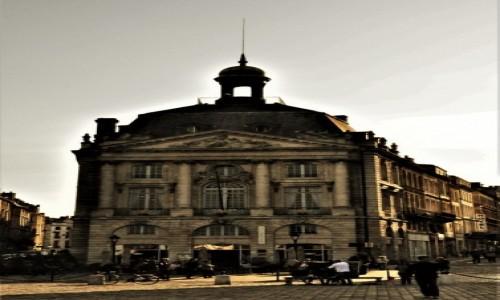 Zdjecie FRANCJA / Akwitania / Bordeaux / Bordeaux,Place de la Bourse