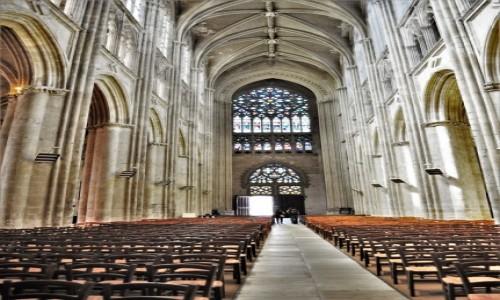 Zdjęcie FRANCJA / Centre-Val de Loire / Tours / Tous, jedna z pięknych francuskich średniowiecznych katedr