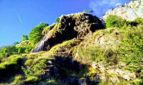 Zdjecie FRANCJA / Prowansja / Verdon Natural Regional Park / Wodospadzik