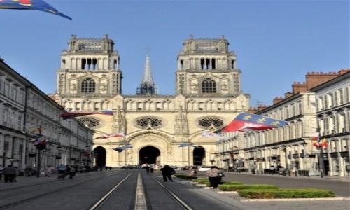 Zdjęcie FRANCJA / Centre-Val de Loire. / Orlean / Orlean, Rue Jeanne-d'Arc