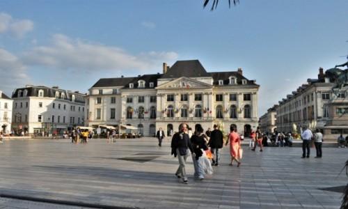 Zdjęcie FRANCJA / Centre-Val de Loire. / Orlean / Orlean, Place du Martroi