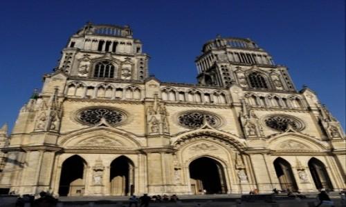 Zdjęcie FRANCJA / Centre-Val de Loire. / Orlean / Orlean, Cathédrale Sainte-Croix