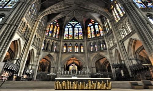 Zdjecie FRANCJA / Lotaryngia / Metz / Metz, katedra św. Szczepana.