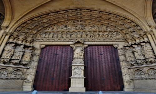 Zdjęcie FRANCJA / Lotaryngia / Metz / Metz, katedra św. Szczepana.