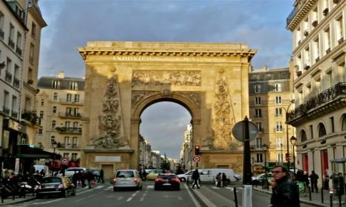Zdjecie FRANCJA / Paryż / Porte_Saint_Denis /  Jeden z wielu łuków triumfalnych Paryża