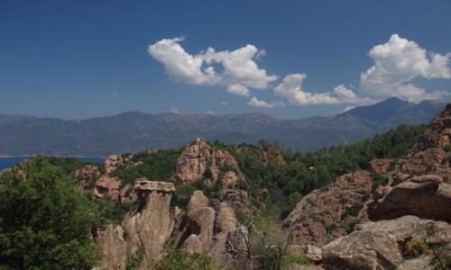 Zdjecie FRANCJA / Korsyka / Rezerwat Naturalny Scandola / Rezerwat Scandola UNESCO