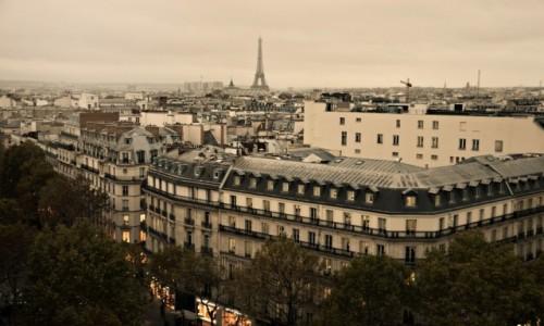 Zdjecie FRANCJA / - / Paryż / Pod niebem