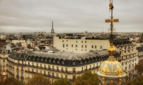 Zdjecie FRANCJA / - / Paryż / Z góry zawsze najlepiej