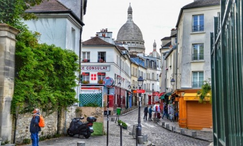 Zdjecie FRANCJA / - / Paryż / Montmartre