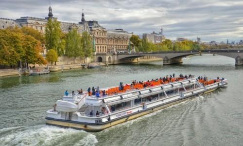 Zdjecie FRANCJA / - / Paryż / Rejs