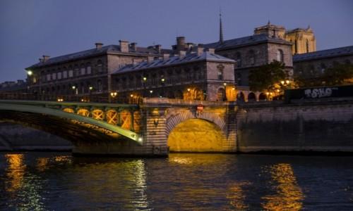 Zdjęcie FRANCJA / Paryż / Paryż  / Sekwana