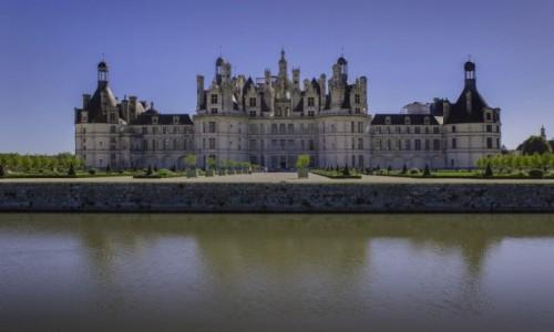 FRANCJA /  Loir-et-Cher  /  Chambord  / Zamek w Chambord