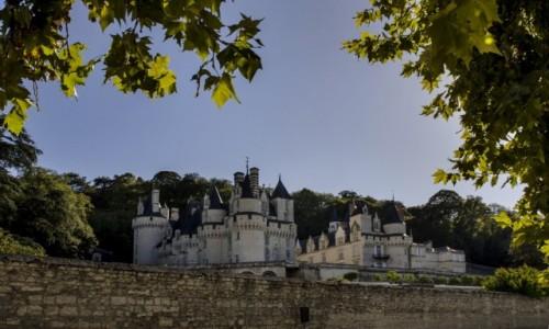 FRANCJA /  Indre i Loara / Rigny-Ussé / Zamek w Usse