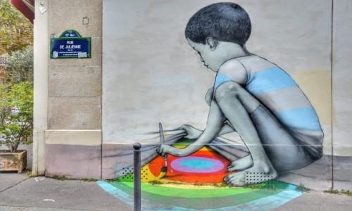 Zdjecie FRANCJA / - / PARYŻ / Streetart Paris13