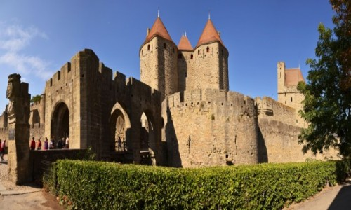 Zdjęcie FRANCJA / Oksytania / Carcassonne / Carcassonne
