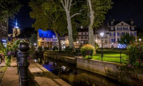 Zdjęcie FRANCJA / Grand Est / Alzacja  / Colmar  / Colmar nocny