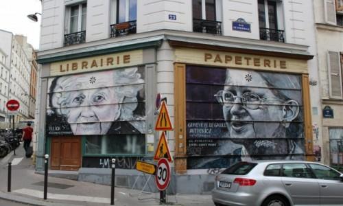 Zdjecie FRANCJA / Ile-de-France / Paryż / Belleville
