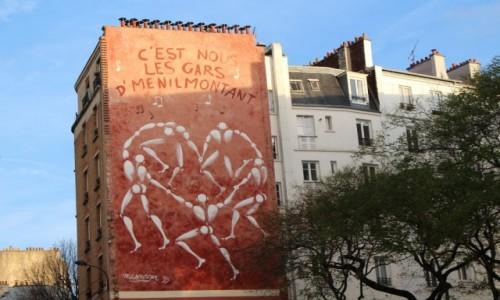 Zdjecie FRANCJA / Ile-de-France / Paryż / Belleville - graffiti, autor: Jerome Mesnager
