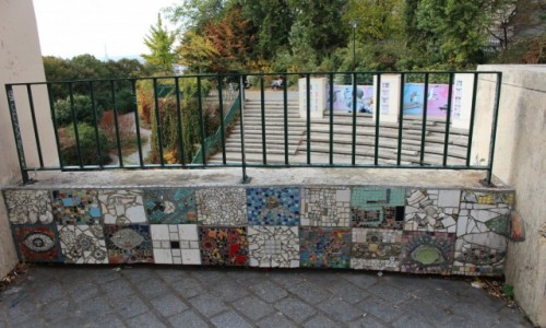 Zdjecie FRANCJA / Ile-de-France / Paryż / Mozaika - Belweder