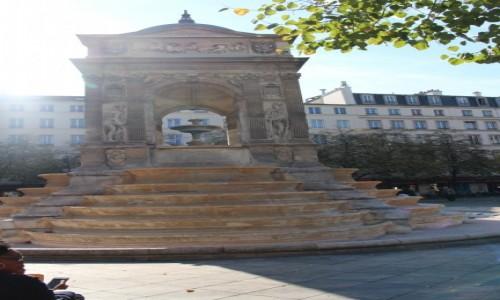 Zdjecie FRANCJA / Ile-de-France / Paryż / Fontanna niewiniątek
