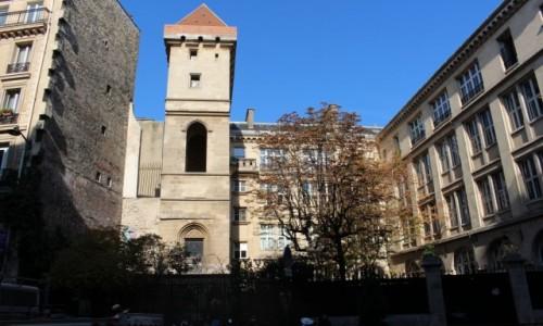 FRANCJA / Ile-de-France / Paryż / Wieża Jana Bez Trwogi