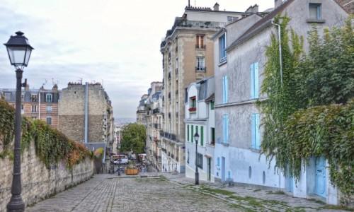 Zdjecie FRANCJA / - / PARYŻ / Spacer ulicami Montmartre