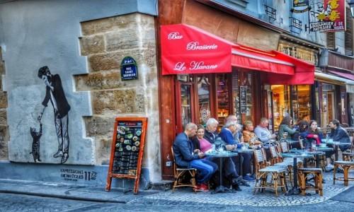 Zdjęcie FRANCJA / - / PARYŻ / Rue Saint-Sauveur