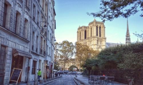 Zdjecie FRANCJA / - / PARYŻ / W drodze do Notre Dame