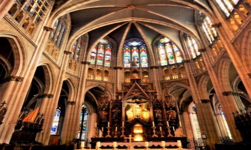 Zdjecie FRANCJA / Lotaryngia / Nancy / Basilique Saint-Epvre de Nancy...