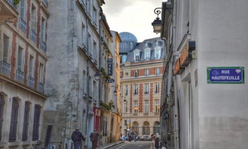 Zdjecie FRANCJA / - / PARYŻ / Paryskie zaułki