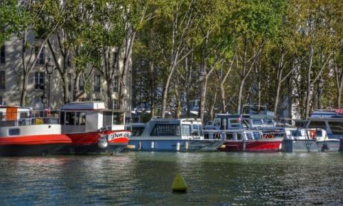Zdjecie FRANCJA / - / PARYŻ / Nad kanałem La Vilette