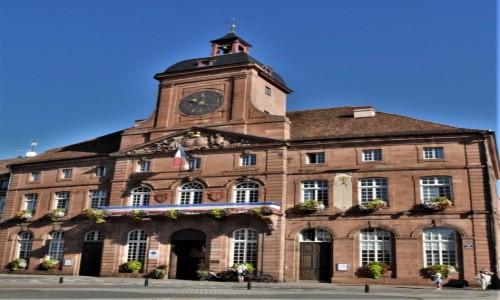 Zdjęcie FRANCJA / Alzacja / Wissembourg / Wissembourg, ratusz