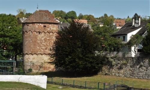 Zdjecie FRANCJA / Alzacja / Wissembourg / Wissembourg, zakamarki, baszta